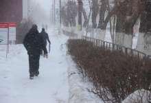 Завтра ожидается сильный снег