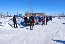 В Великопетровку съезжаются лыжники
