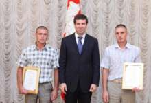 «Народные спасатели», отличившиеся во время наводнения, получили награды губернатора