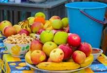 Яблочный спас на улице Труда