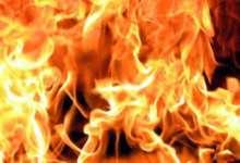 В Снежном у многодетной семьи сгорел дом