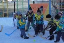 В Карталах прошел первый хоккейный турнир среди дошколят