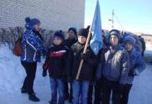 Победы в «Зарнице» школьники посвятили памяти павших земляков