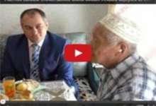 Участник Великой Отечественной войны Михаил Искаков вернулся из юбилейного путешествия в столицу