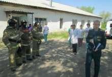 Учебная эвакуация отделения больницы