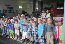 Воспитанники детсада «Капелька» побывали в гостях у пожарных