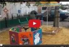 В Карталах детскую площадку строят сами жители