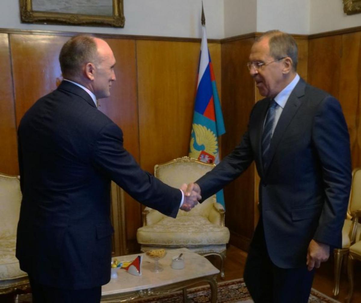 Губернатор Челябинской области Борис Дубровский встретился с министром иностранных дел РФ Сергеем Лавровым