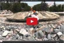 В Карталах идет ремонт городского фонтана