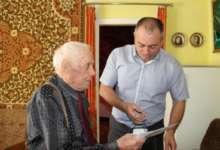 Карталинский ветеран-долгожитель принимает поздравления