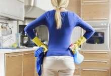 Худышки моют посуду и пол вручную?