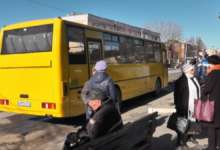 В Карталах значимое событие - новый автобус вышел в рейс