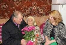 Жительница Карталов принимает поздравления в свой 100-летний юбилей