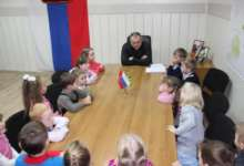 Маленькие гости в «большом» кабинете: карталинские детсадовцы побывали в гостях у главы Карталинского района