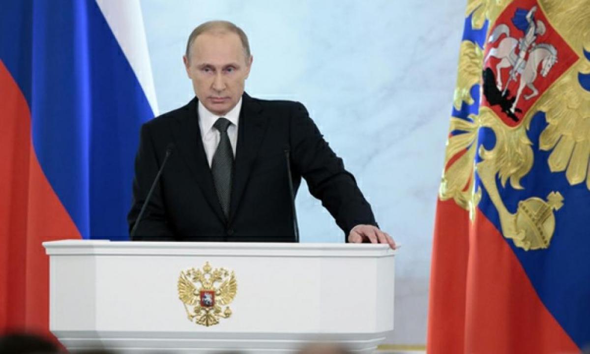 Слушаем своего президента. В прямом эфире - обращение Путина к Федеральному собранию