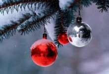 В новогоднюю ночь будет идти снег