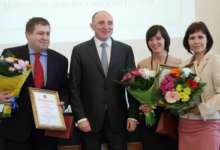 Журналисты области принимали поздравления
