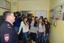 В Карталах студенческий десант побывал в отделе полиции