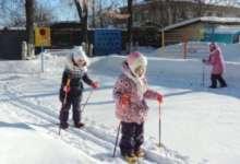 Все – на лыжи! В Карталах любовь к спорту прививают с детского сада