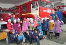 Карталинские школьники знакомятся с работой пожарных
