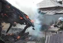 В Карталах одновременно произошло два пожара
