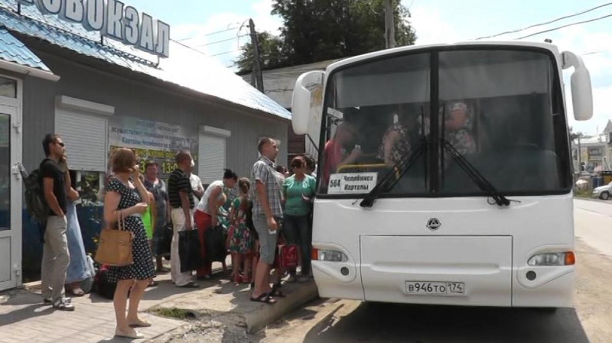 Новый автобус отправился в рейс
