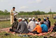 Карталинские мусульмане празднуют