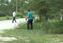 Карталинские волонтеры  навели порядок в парке