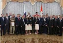 Борис Дубровский вручил награды олимпийцам