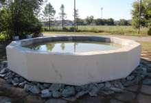 Карталинские активисты отремонтировали фонтан