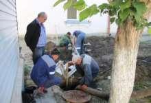 В Карталах устранили аварию на водопроводе