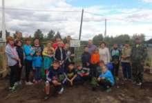 Карталинские школьники заложили сад надежды