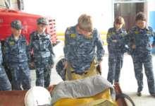 В Карталах кадеты познакомились с профессией спасателя