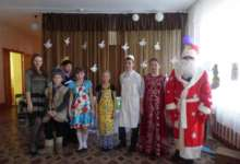 Еленинцы отметили день рождения Деда Мороза