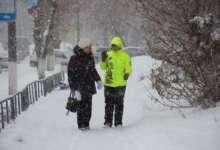 Карталы накрыло снегом