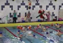 Новогодний праздник в бассейне