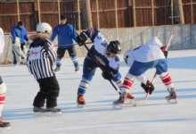 Карталинские хоккеисты вышли на лед
