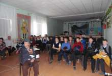 Карталинский ветеран рассказал детям о войне