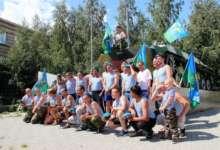 Карталинские ветераны ВДВ собрались на фонтане