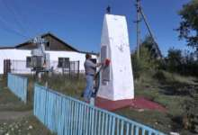Вандалы осквернили памятник погибшим карталинцам