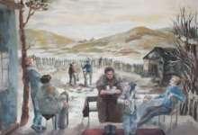 Юные карталинские художники участвовали в конкурсе