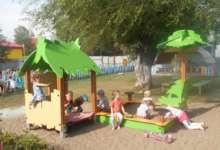 Карталинским детям обновили детскую площадку