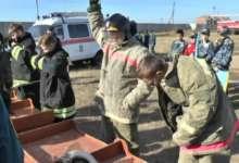 Карталинские школьники примерили роль спасателей