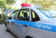 В Карталах оштрафовали 9 водителей