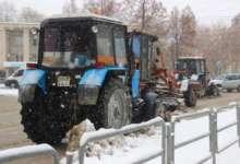 Карталинские улицы очищают от снега