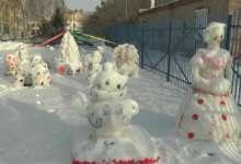Карталинские миниатюры: чудесный снежный город радует ребят