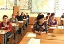 Карталинских школьников за партами заменили родители