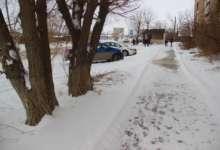 В Карталах идет снегоборьба
