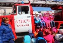 100-летний юбилей пожарной охраны отметили карталинские пожарные