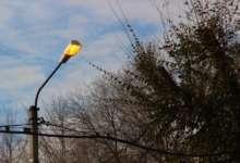 В Карталах загораются фонари